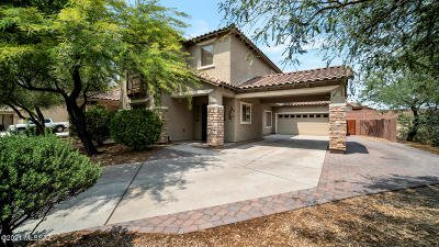 Marana Single Family Home For Sale: 3380 W Wing Tip Drive