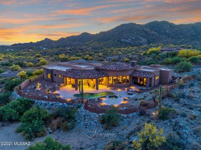 Oro Valley Single Family Home Active Contingent: 14530 N Granite Peak Place