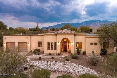 Tucson Single Family Home For Sale: 11540 N Flying Bird Drive