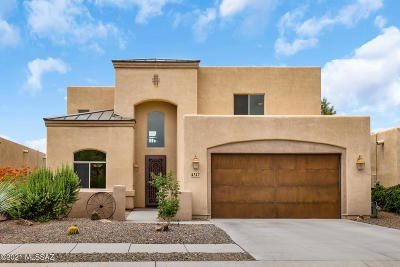 Marana Single Family Home Active Contingent: 4347 W Cloud Ranch Place