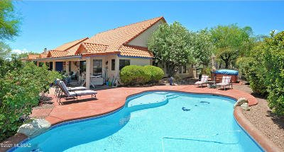 Oro Valley Single Family Home Active Contingent: 11170 N Broadstone Drive