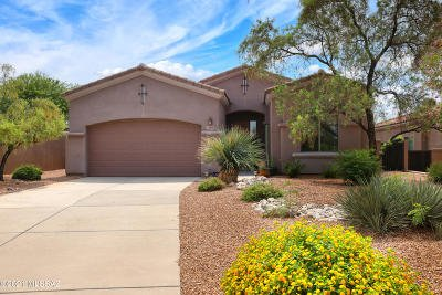 Tucson Single Family Home Active Contingent: 6274 N Campo Abierto