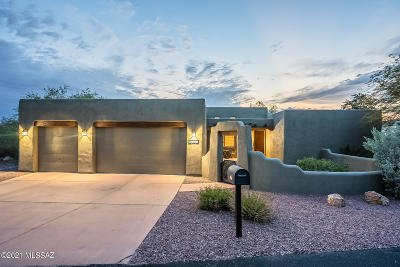Tucson Single Family Home Active Contingent: 2425 N Cavalry Trail