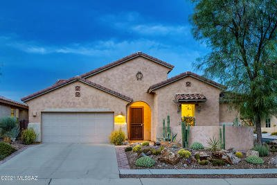 Oro Valley Single Family Home Active Contingent: 329 E Painted Pottery Place