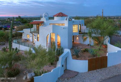 Tucson Single Family Home Active Contingent: 4620 N Caminito Pais