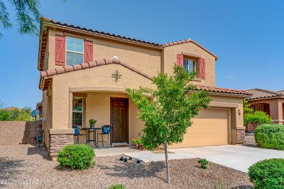 Oro Valley Single Family Home Active Contingent: 12945 N Indian Palms Drive