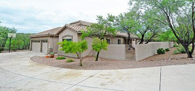 Tucson Single Family Home Active Contingent: 4537 N Scenic Mountain Drive