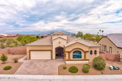 Tucson Single Family Home Active Contingent: 5613 W Jade Hollow Place