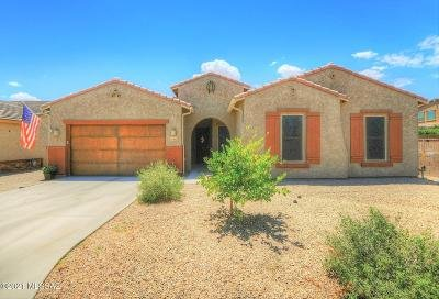 Oro Valley Single Family Home Active Contingent: 10985 N Delphinus Street
