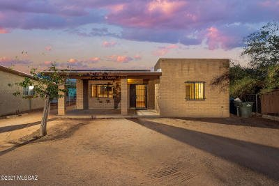 Tucson Single Family Home Active Contingent: 409 W Lincoln Street
