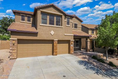 Tucson Single Family Home Active Contingent: 5896 S Copper Hills Drive