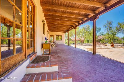 Tucson Single Family Home For Sale: 1280 W Panorama Road