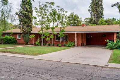 Tucson Single Family Home For Sale: 3338 N Forgeus Avenue