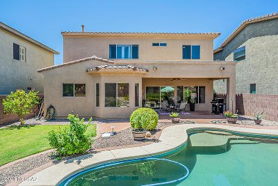 Tucson Single Family Home For Sale: 10033 E Country Shadows Drive