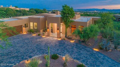 Tucson Single Family Home For Sale: 7442 N Whisper Canyon Place
