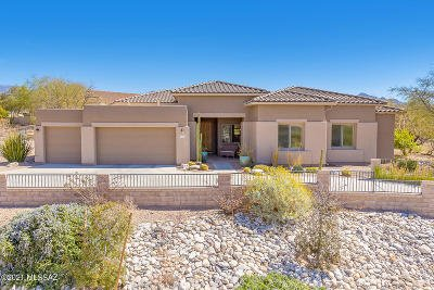 Oro Valley Single Family Home Active Contingent: 12770 N Yellow Bird Road