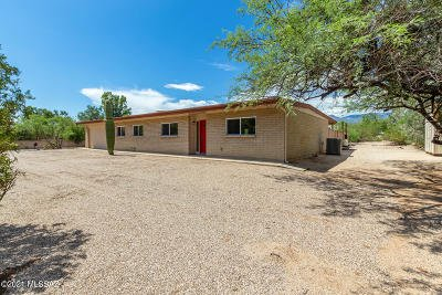Tucson Single Family Home For Sale: 2460 N Tanque Verde Acres Drive