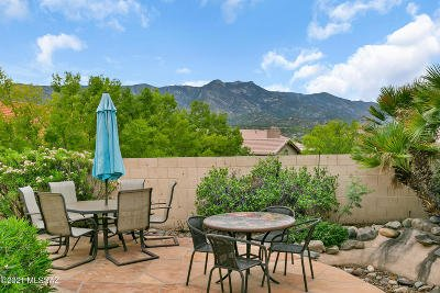 Tucson Single Family Home Active Contingent: 37594 S Spoon Drive