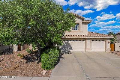 Oro Valley Single Family Home Active Contingent: 12825 N Lantern Way