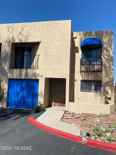 Tucson Townhouse For Sale: 210 E Pastime Road