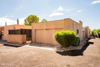 Tucson Townhouse For Sale: 8330 E Coral Springs Lane