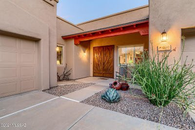 Tucson Single Family Home Active Contingent: 10642 E Mary Stephey Place