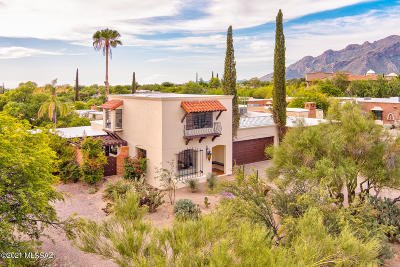 Tucson Townhouse For Sale: 6231 N Campbell Avenue