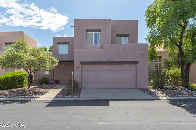 Tucson Townhouse For Sale: 3480 N Applewood Drive