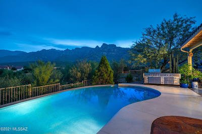 Oro Valley Single Family Home Active Contingent: 11395 N Skywire Way
