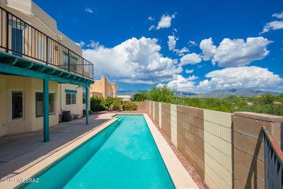 Tucson Single Family Home Active Contingent: 780 N Promontory Drive