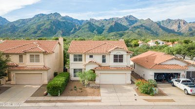 Tucson Single Family Home Active Contingent: 7775 E Castle Valley Way