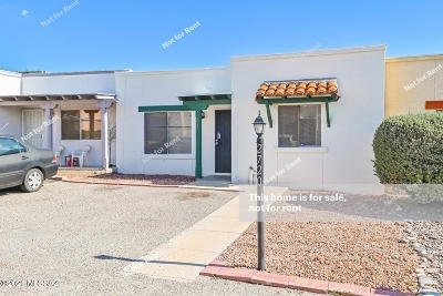 Tucson Townhouse For Sale: 2720 S Oakenshield Way
