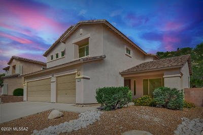 Tucson Single Family Home For Sale: 4382 N Sunset Cliff Drive