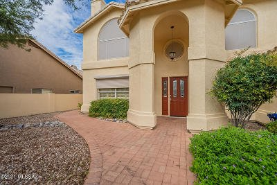 Oro Valley Single Family Home For Sale: 1973 W Desert Highlands Drive