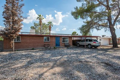 Tucson Single Family Home Active Contingent: 6926 E Calle Orion