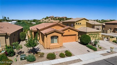 Tucson Single Family Home Active Contingent: 55 E Brearley Drive