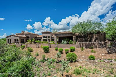 Oro Valley Single Family Home Active Contingent: 14033 N Honey Bee Trail