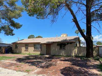 Tucson Single Family Home Active Contingent: 6261 E 28th Street