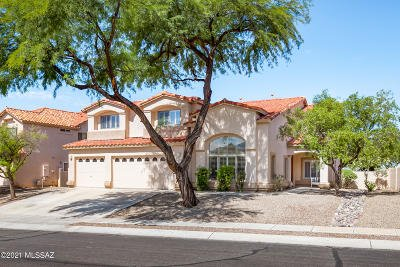 Oro Valley Single Family Home Active Contingent: 11291 N Chynna Rose Place
