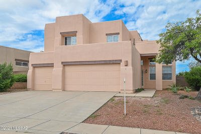 Tucson Single Family Home Active Contingent: 851 N Promontory Drive