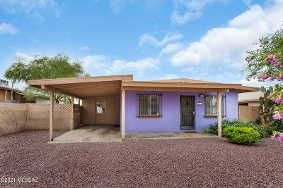 Tucson Single Family Home Active Contingent: 849 W Alturas Street