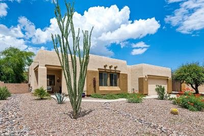Tucson Single Family Home Active Contingent: 11858 N Potosi Point Drive