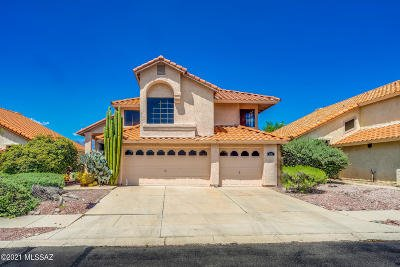 Tucson Single Family Home Active Contingent: 9481 E Star Water Drive