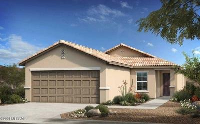 Tucson Single Family Home For Sale: 7987 S Golden Bell Drive #lot 66