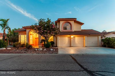 Tucson Single Family Home Active Contingent: 3131 W Stoney Brook Trail