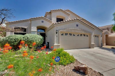 Oro Valley Single Family Home Active Contingent: 235 W Brinkley Springs Drive
