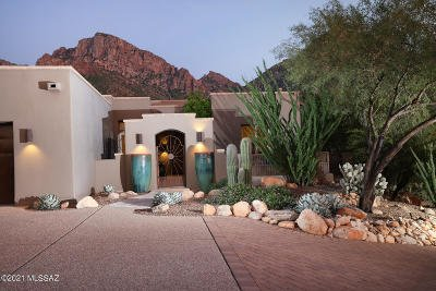 Oro Valley Single Family Home Active Contingent: 10250 N Cliff Dweller Place