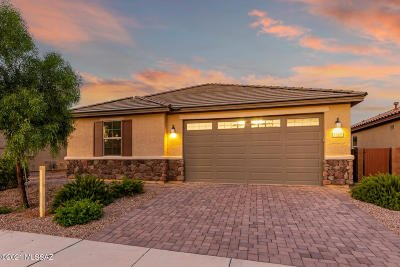 Tucson Single Family Home Active Contingent: 8826 N Hardy Preserve Loop