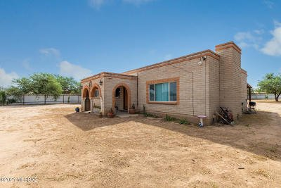 Tucson Single Family Home For Sale: 4705 W Massingale Road