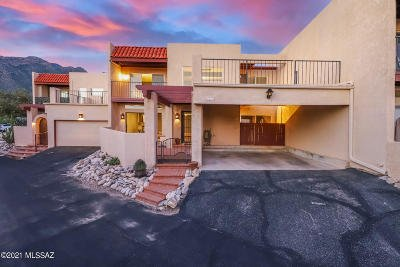Tucson Townhouse For Sale: 6336 N Camino Los Mochis